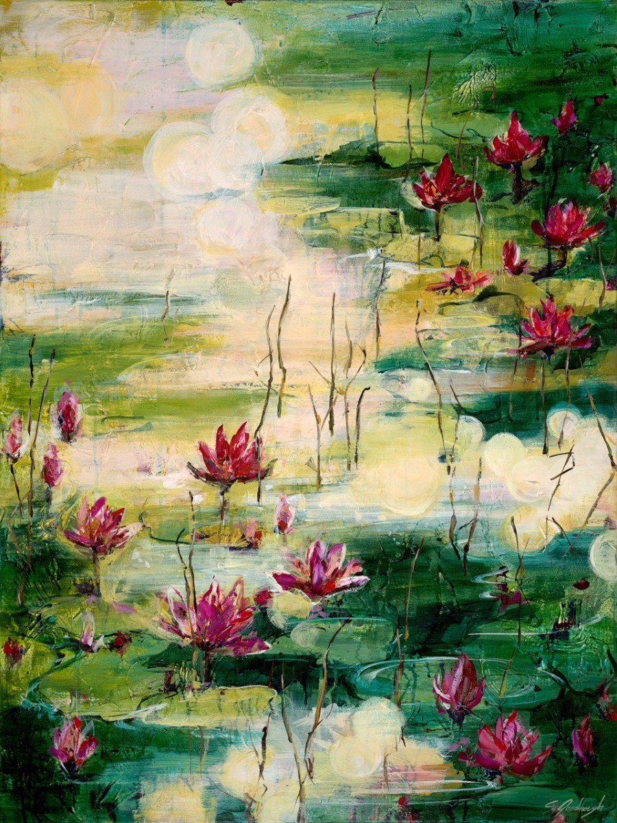 Blooming Enlightenment by Sarah Goodnough