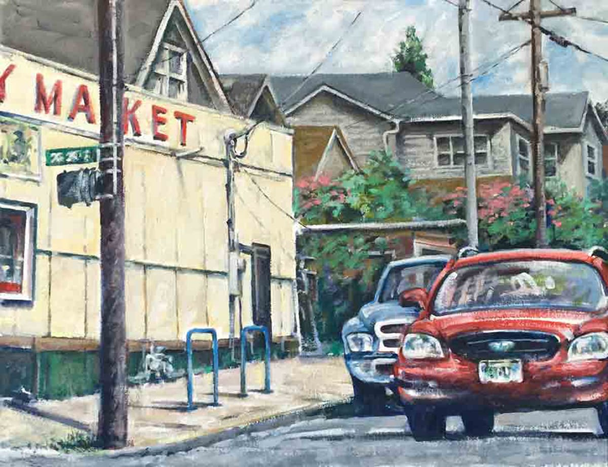 RedCar Penny Market by Dennis Anderson