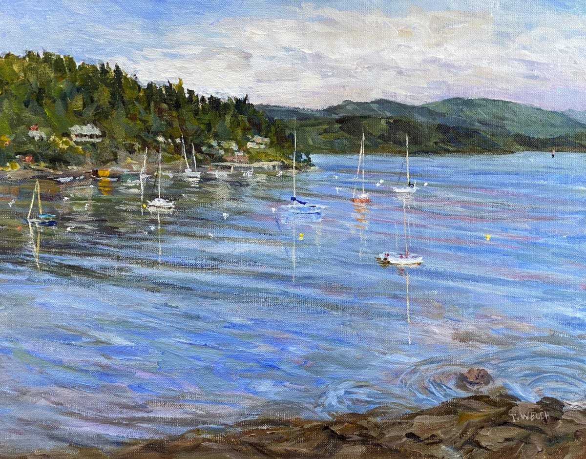 Village Bay Morning by Terrill Welch