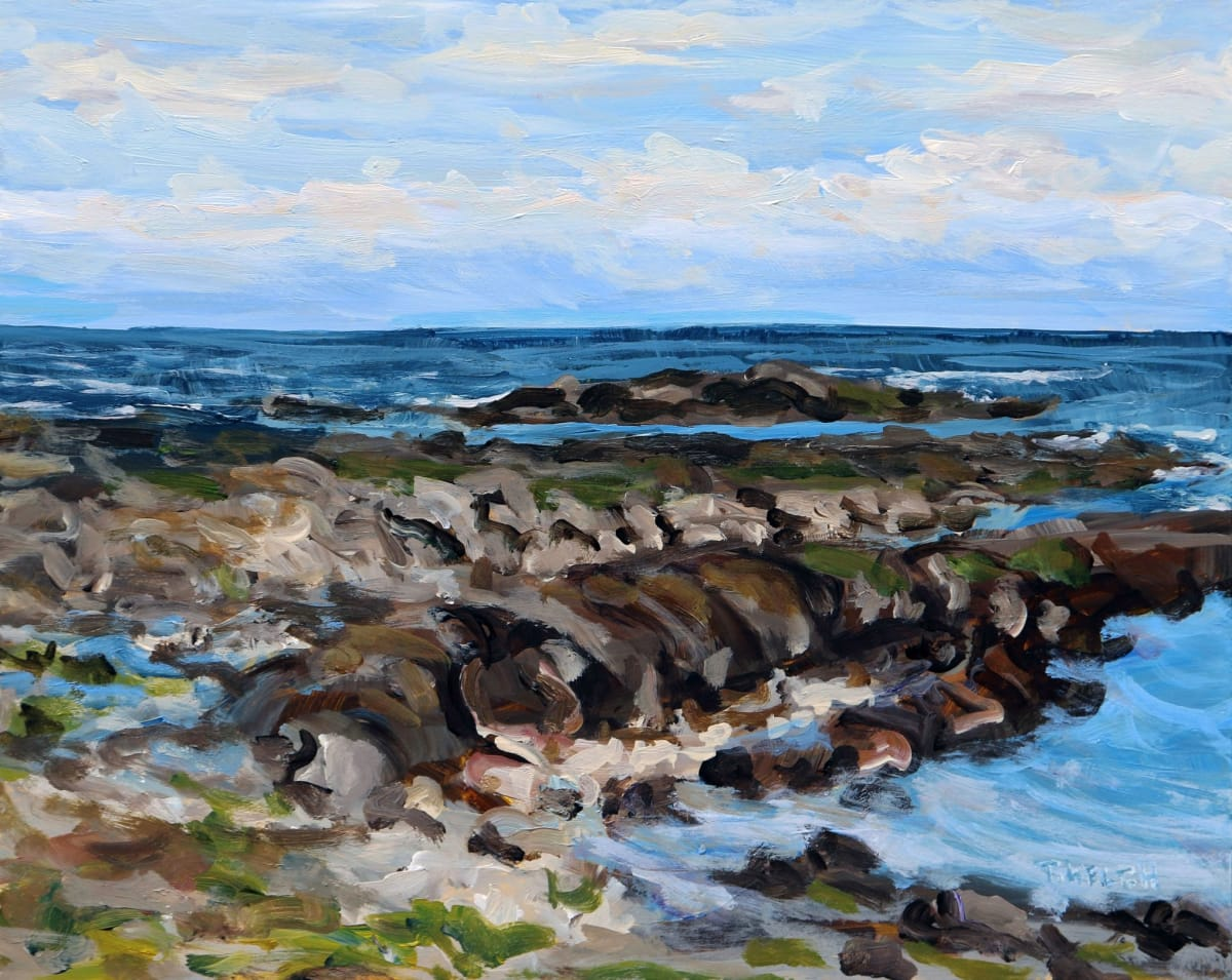 An Early Spring Sea by Terrill Welch