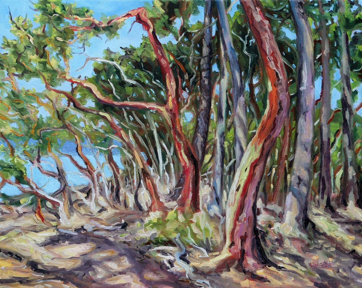 Arbutus Grove West by Terrill Welch