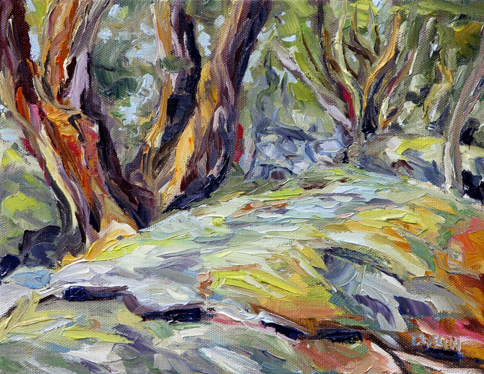 Arbutus by the Trail by Terrill Welch
