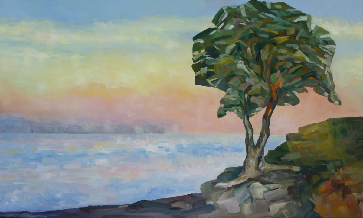 Evening and the Arbutus Tree by Terrill Welch