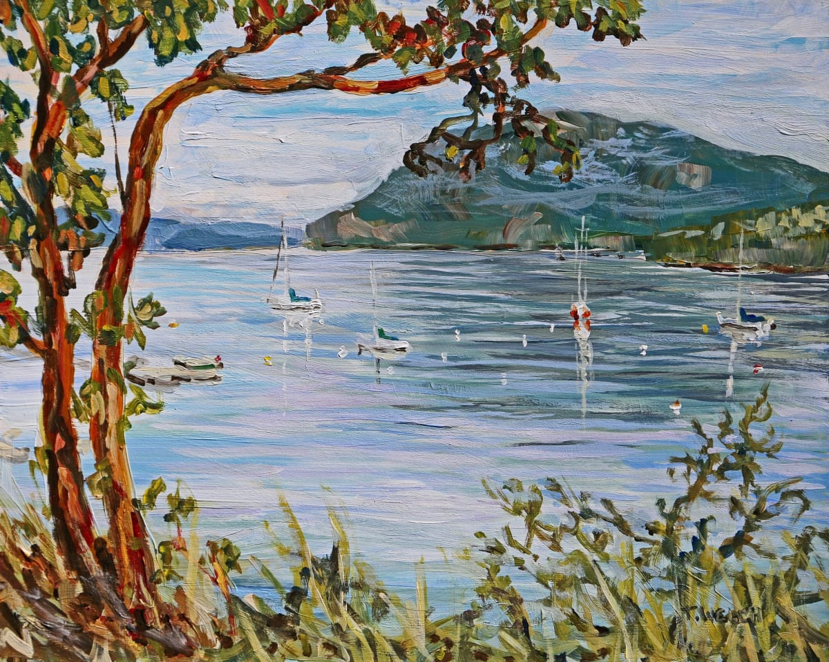 Morning Promise Village Bay by Terrill Welch