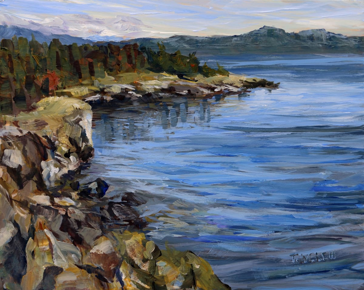 October Helliwell Cliffs by Terrill Welch