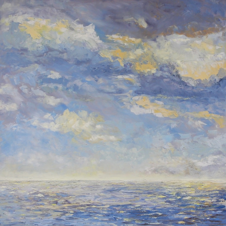 Sea and Clouds by Terrill Welch