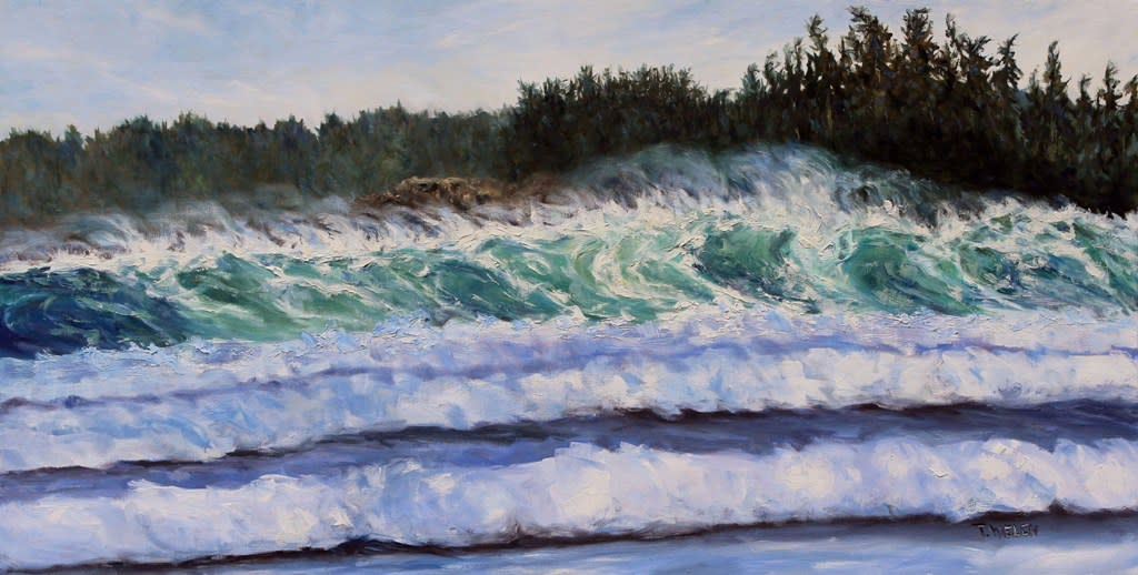Sea and Sun Cox Bay Tofino BC by Terrill Welch