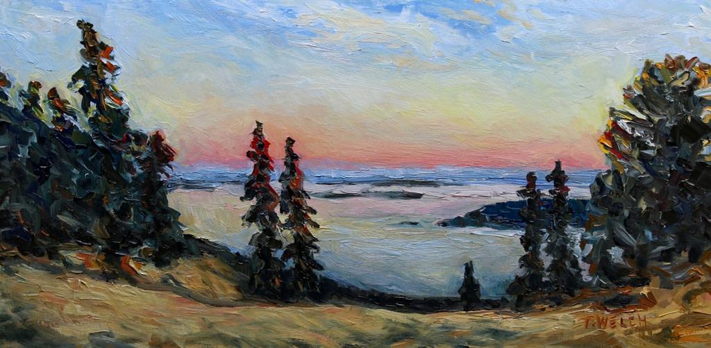 Sunset On Brown Ridge