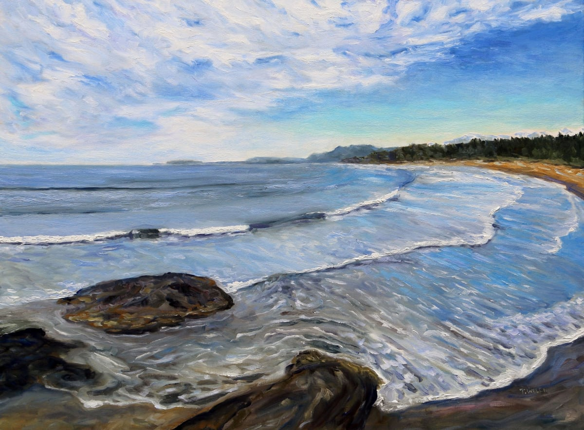 Wickininnish Beach in the Pacific Rim Park Reserve by Terrill Welch