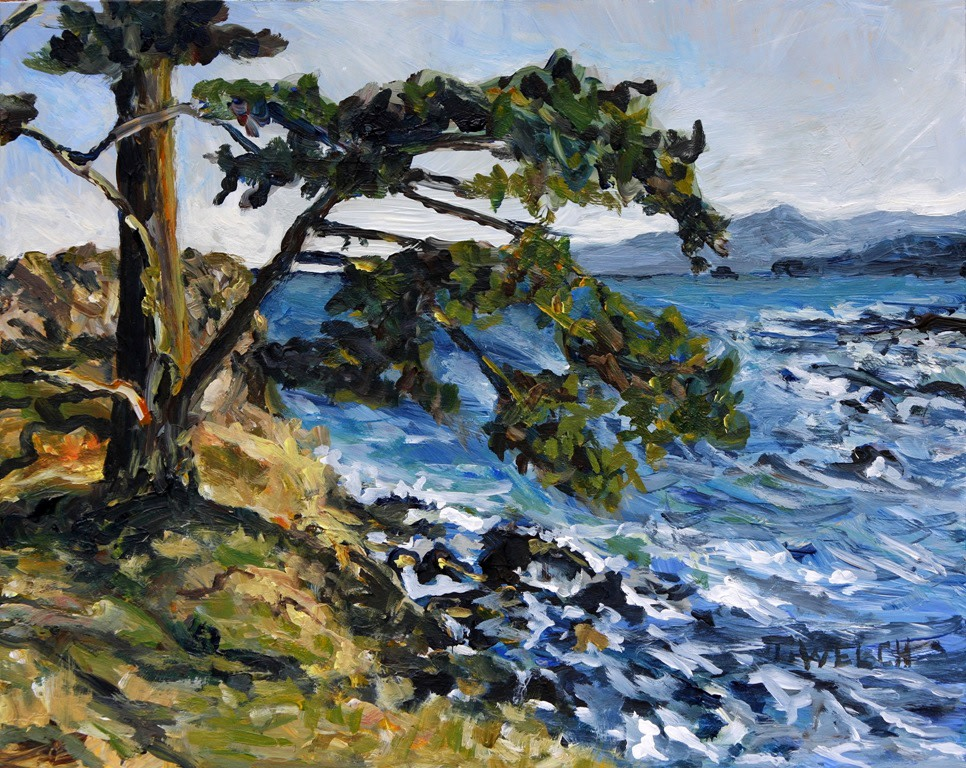 Unremarkable Edith Point Esquisse by Terrill Welch