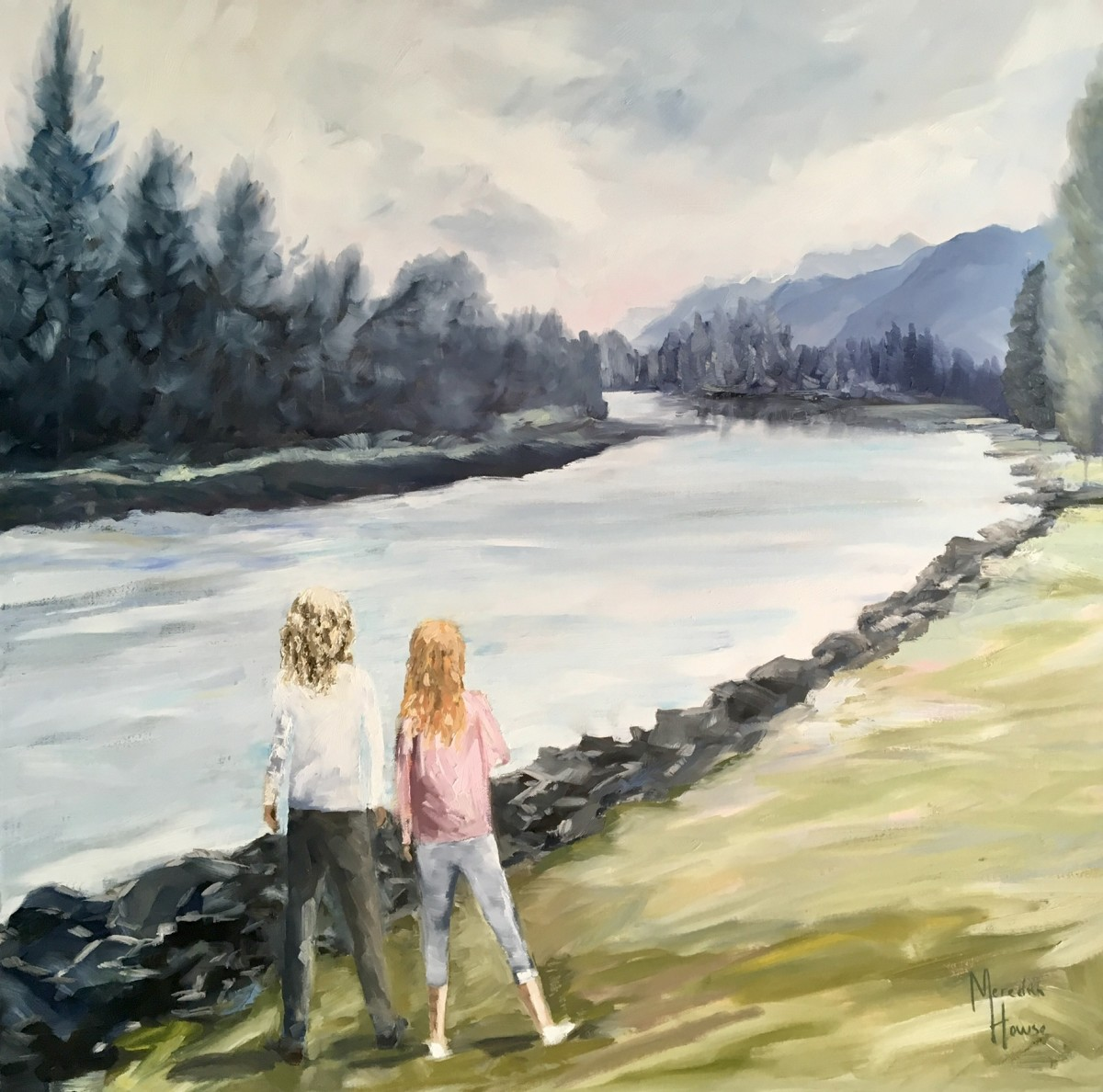 Home on the Elk River by Meredith Howse