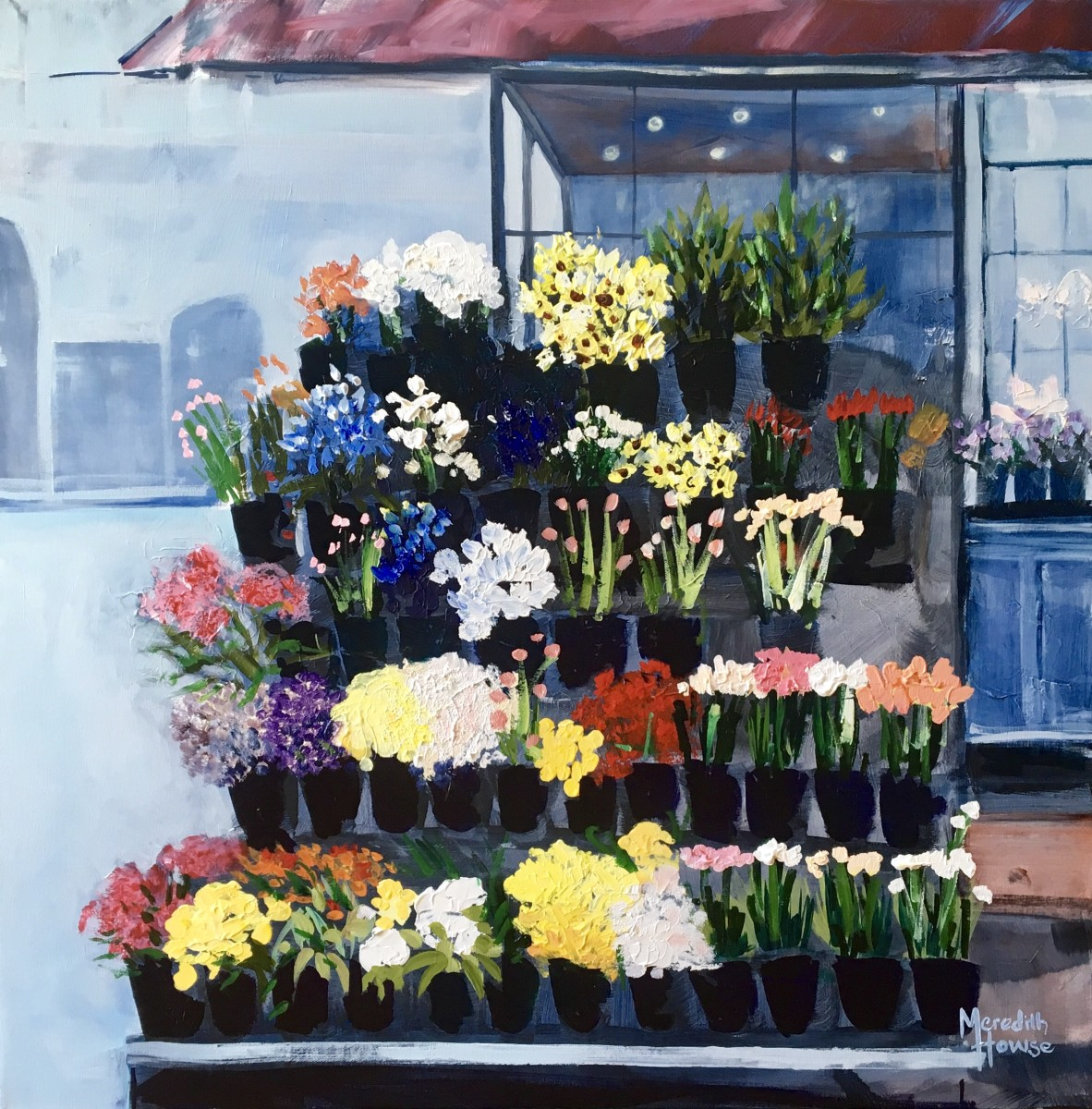 Melbourne Street Flowers by Meredith Howse