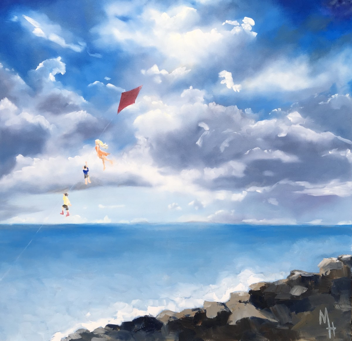 Flying the Kite Too by Meredith Howse