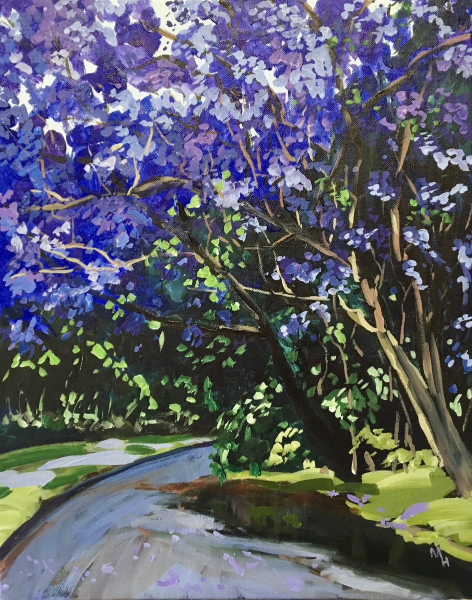 Jacarandas 3 by Meredith Howse