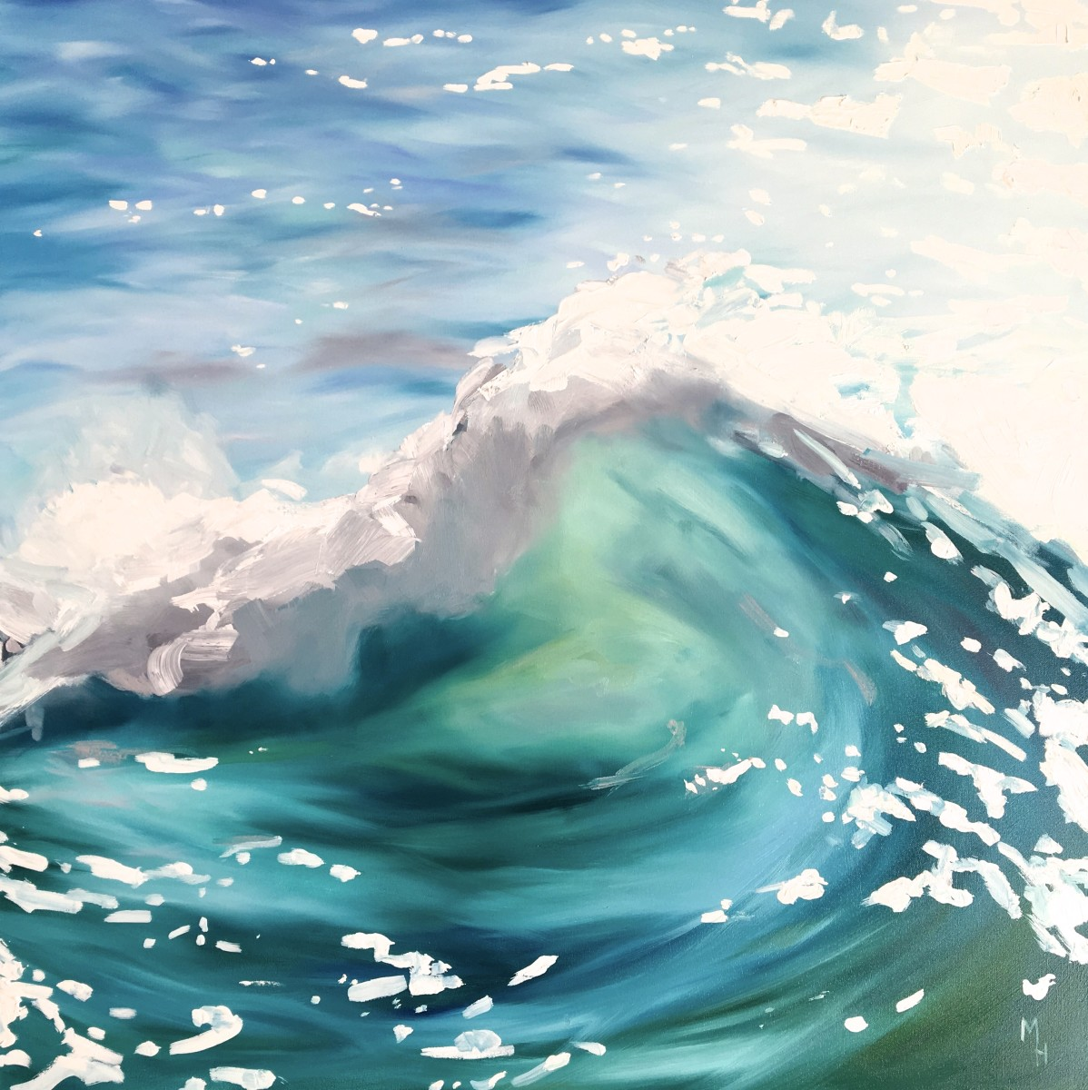 The wave 2 by Meredith Howse