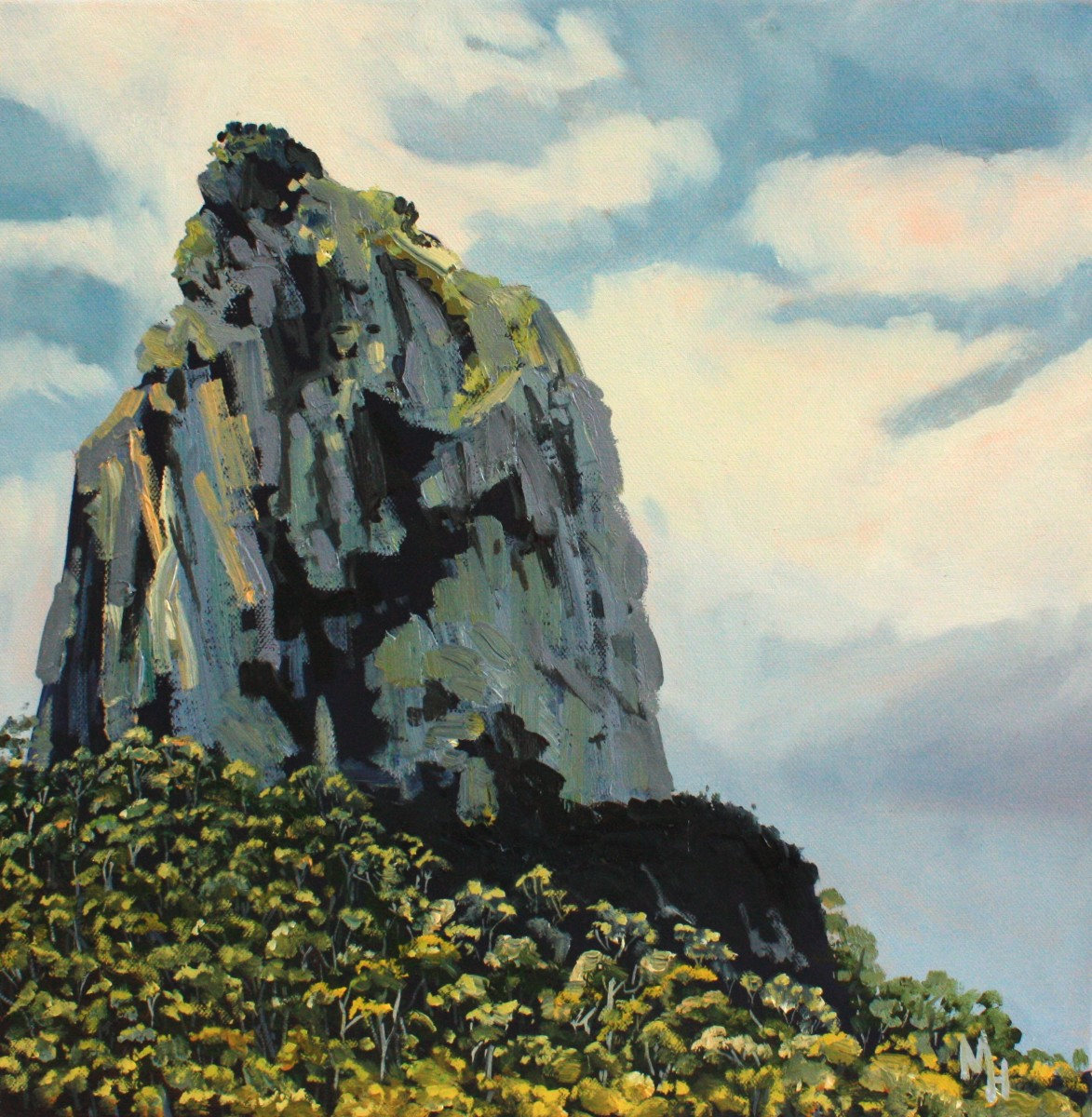 Mount Coonowrin by Meredith Howse