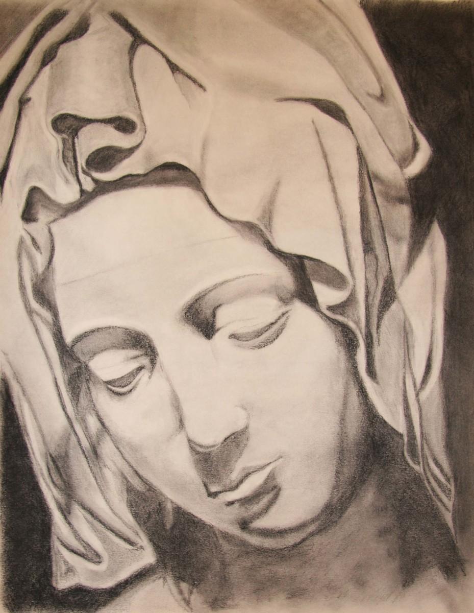 Madonna 2 by Kathy Ferguson