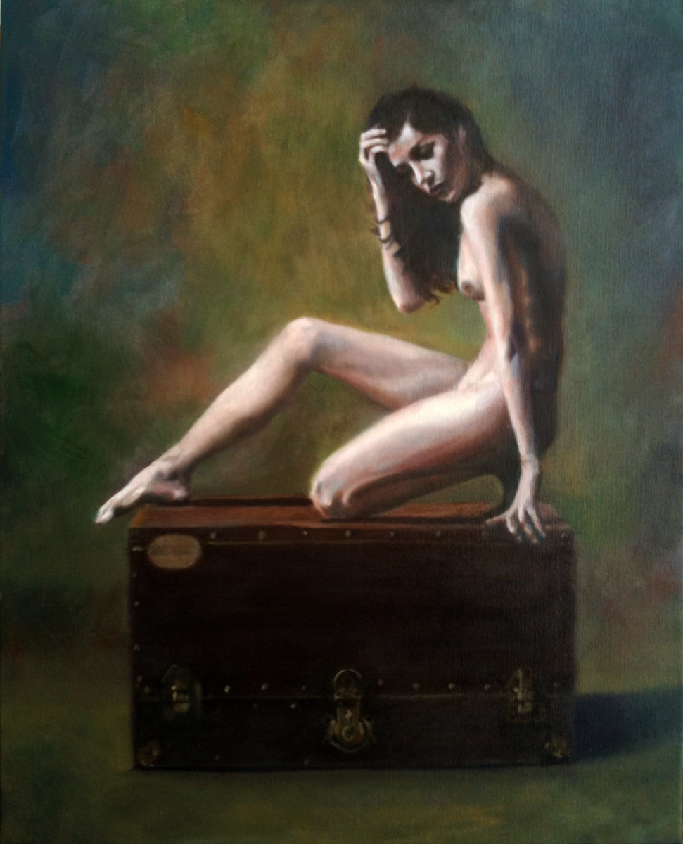 Nude on Chest by Kathy Ferguson