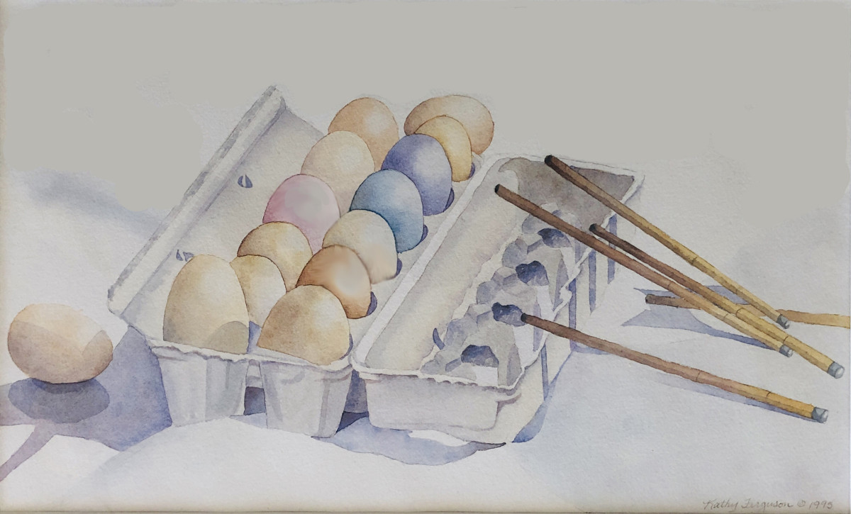 Pastel Omelet by Kathy Ferguson