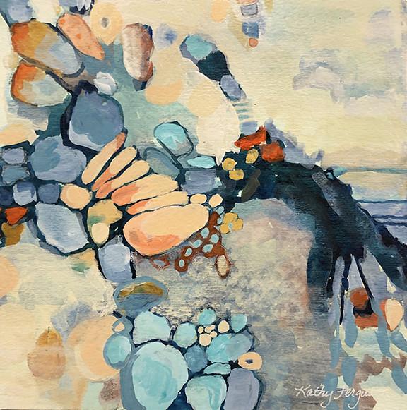 Pebble Beach by Kathy Ferguson
