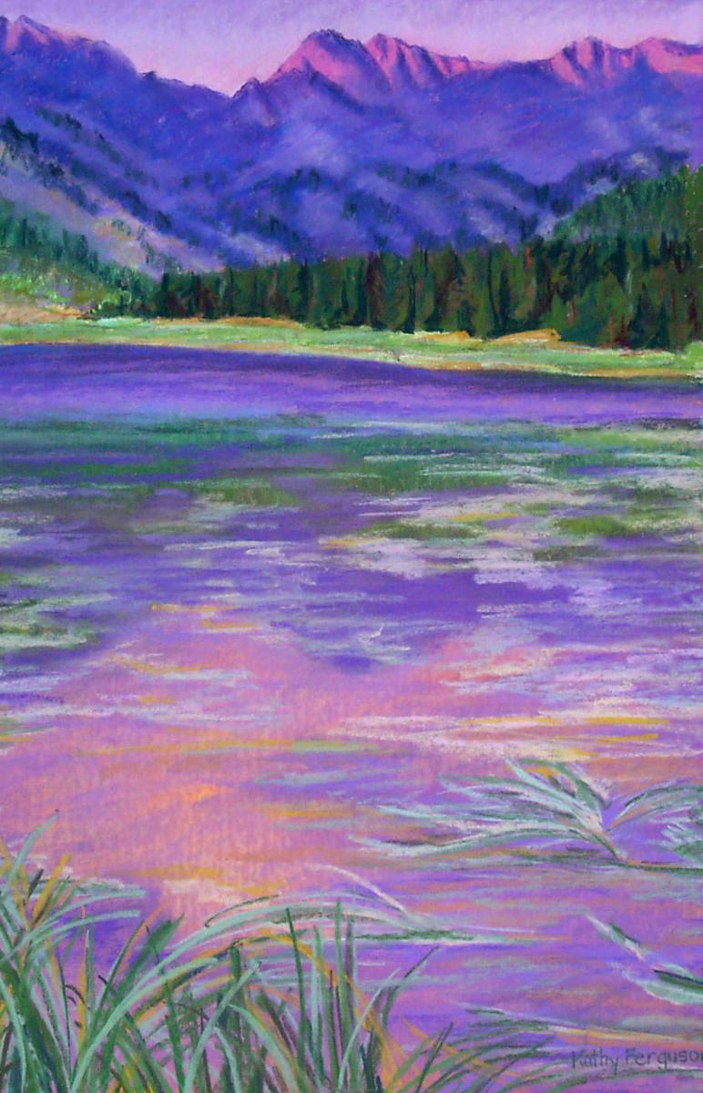 Piney Lake Sunset by Kathy Ferguson