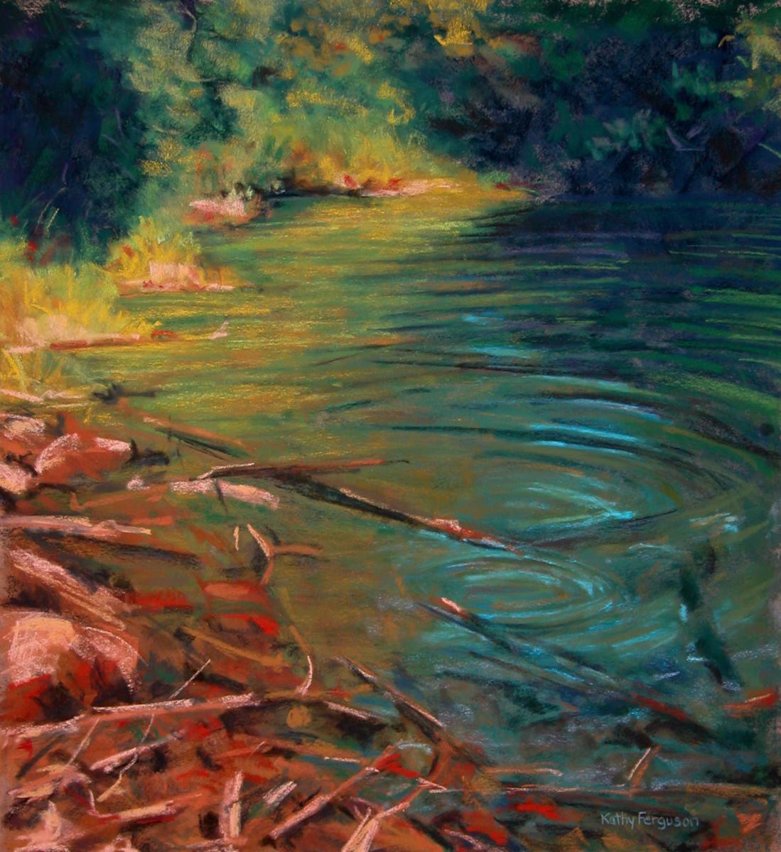 Pond Ripples by Kathy Ferguson