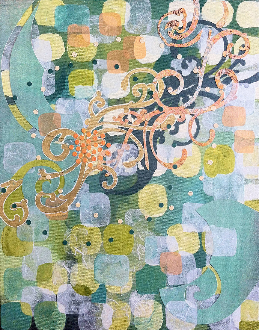 Swirls Across by Kathy Ferguson