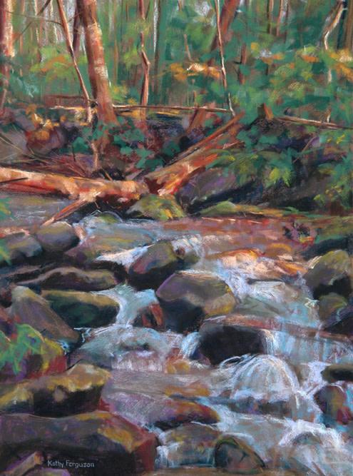 Tennessee Creek by Kathy Ferguson