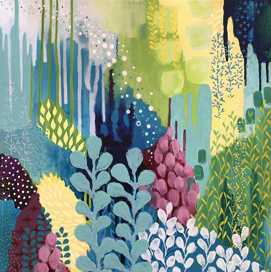 Jewel Forest Two by Kathy Ferguson