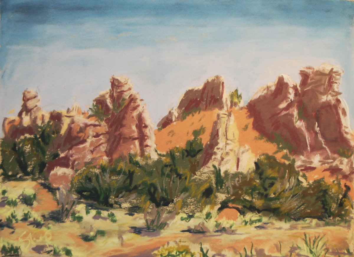 Garden of the Gods by Charles Stup