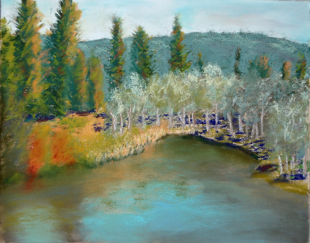 Kevin's Pond by Charles Stup