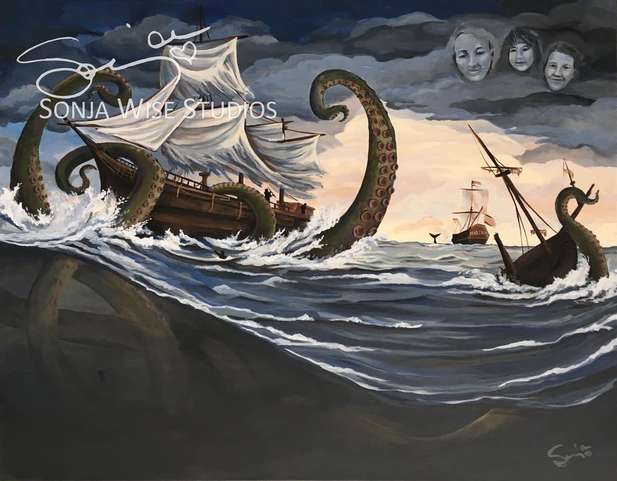 Estes Kraken by Sonja Petersen