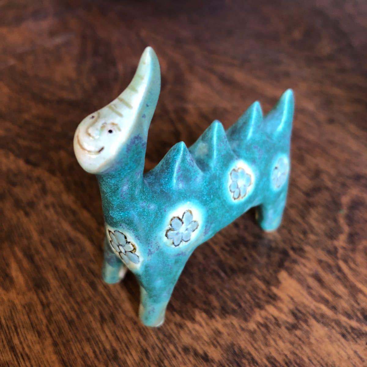 Happy Teeny Dino by Nell Eakin