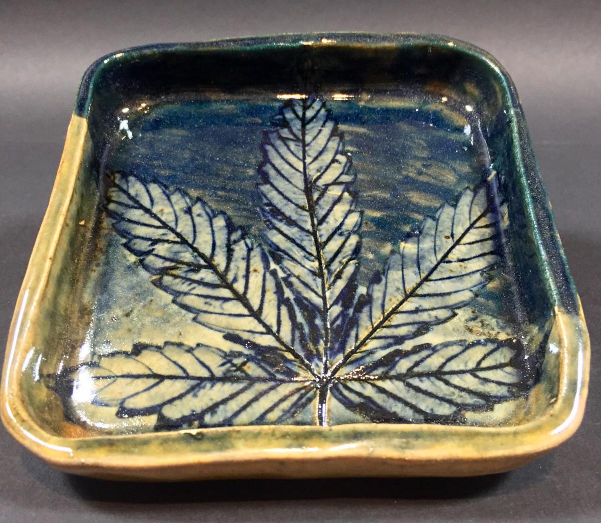 Big Leaf tray by Nell Eakin