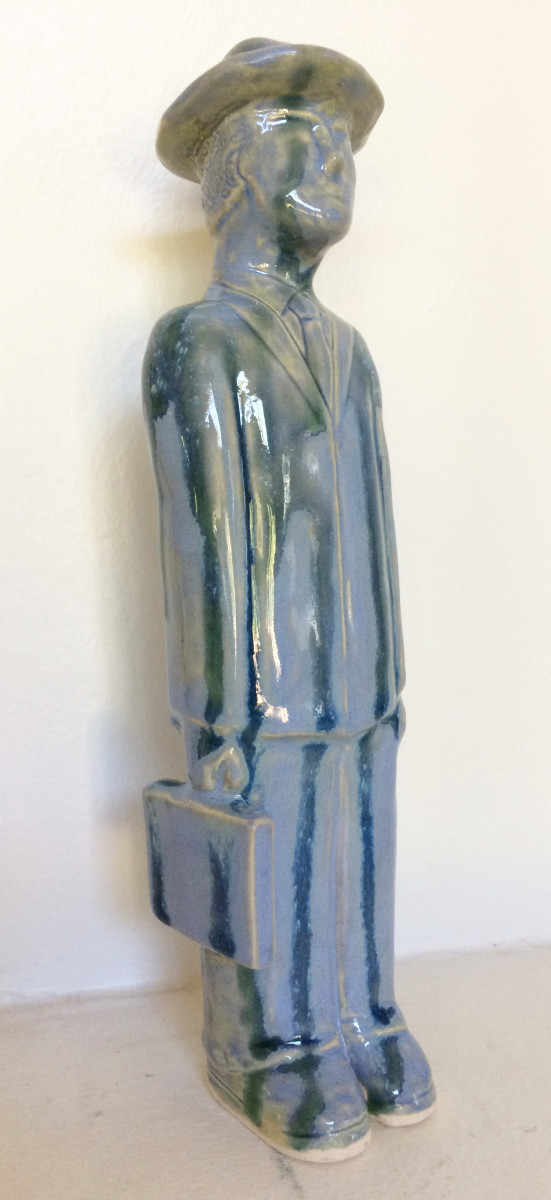 Tall Blue Man by Nell Eakin