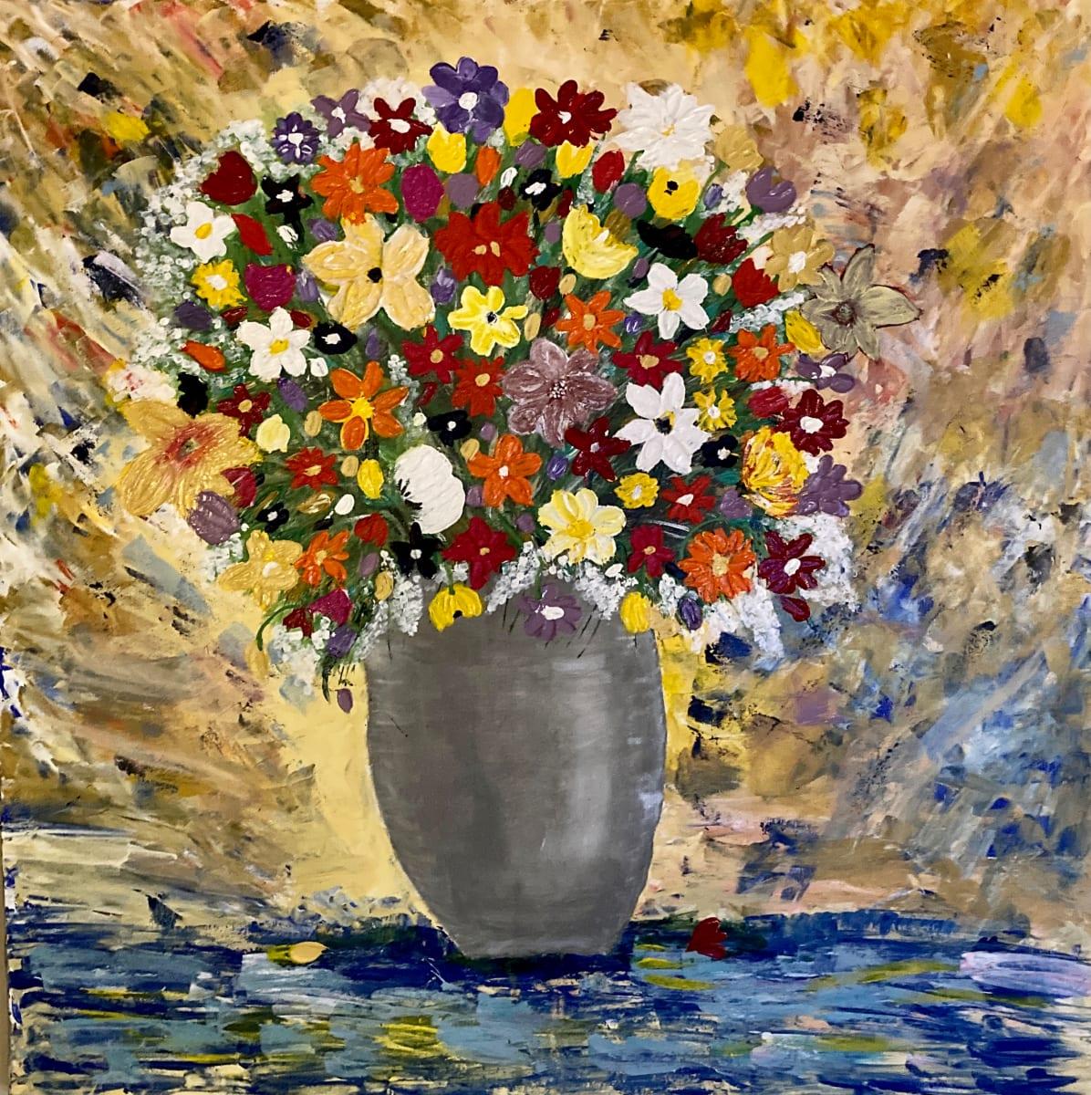 Floral Bouquet by Julie Crisan