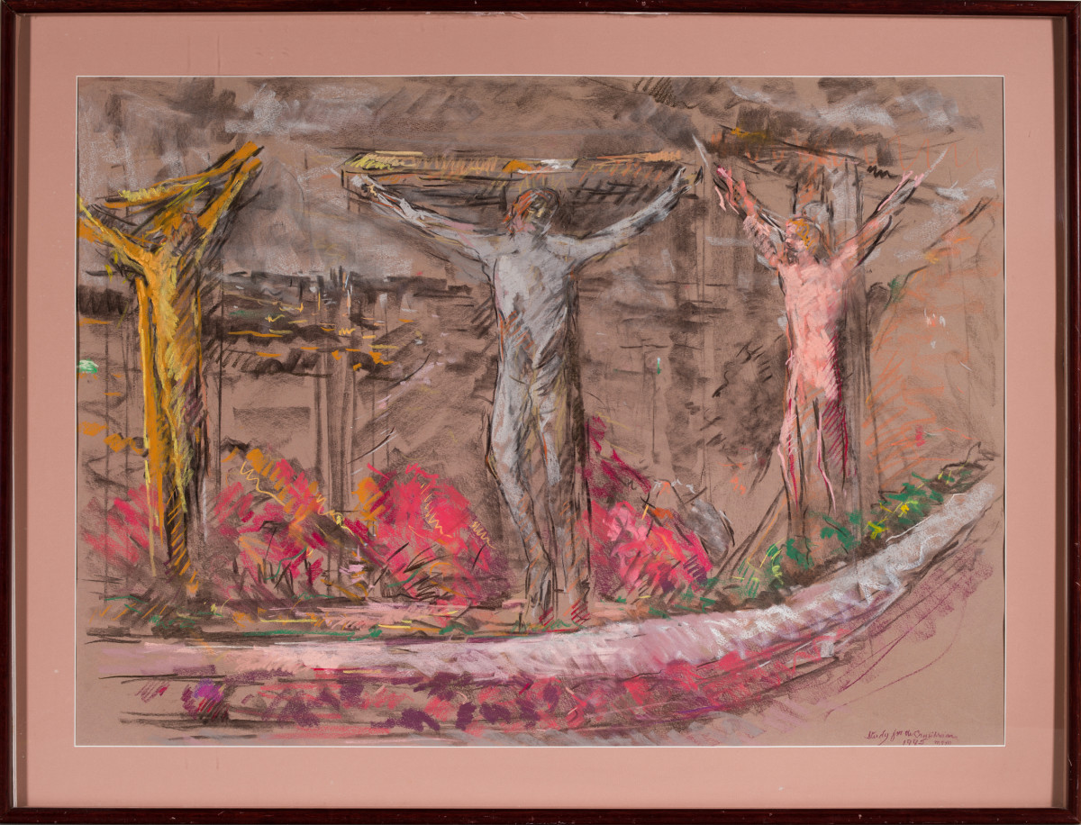 The Crucifixion by Miriam McClung