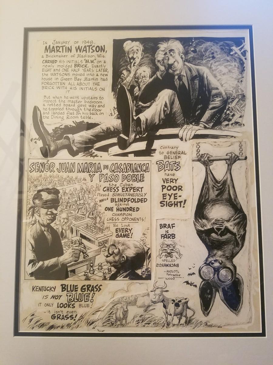 Strangely Believe It - Mad #33 by Wally Wood