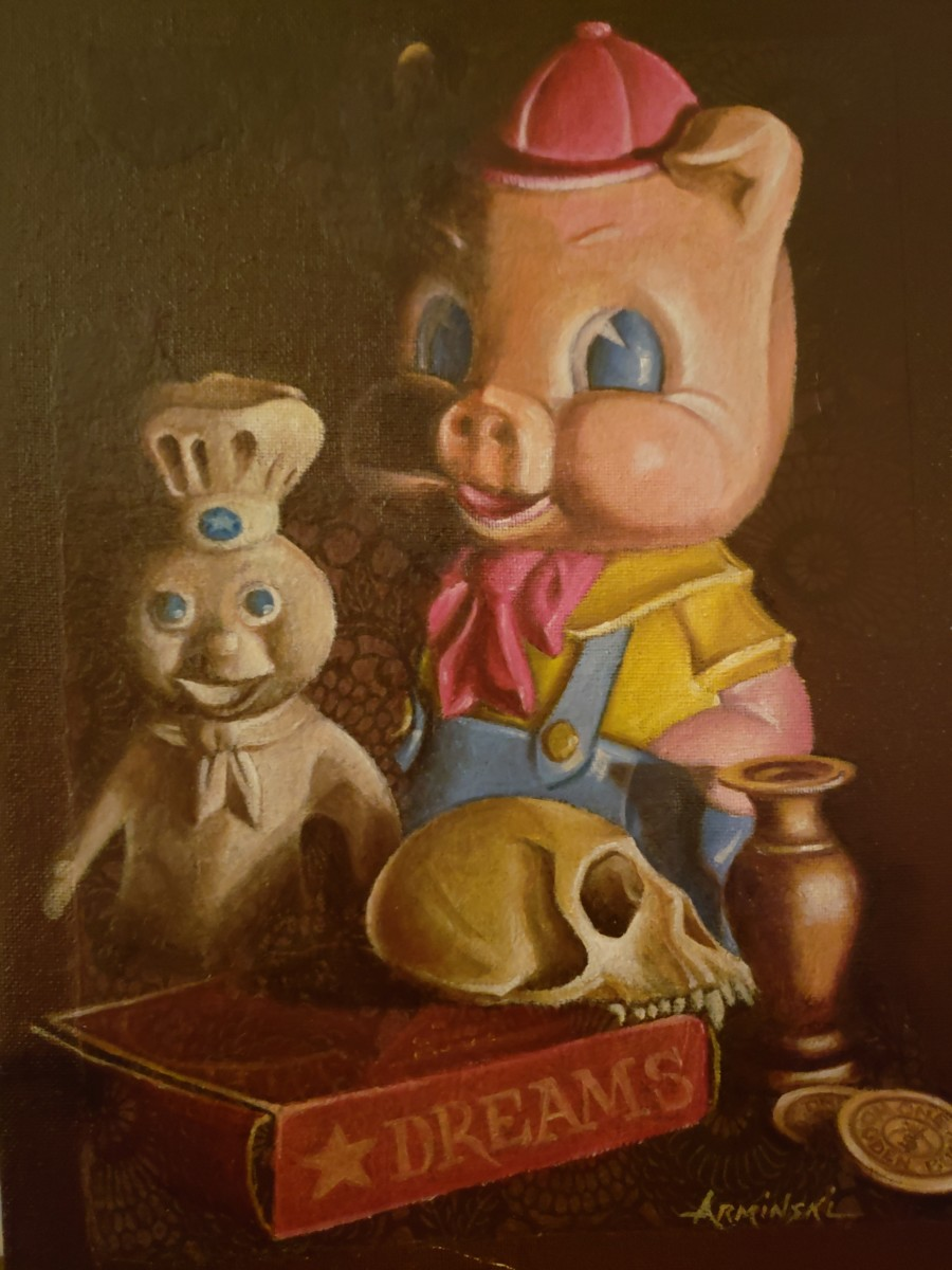 Pilsbury & Porky Pig by Arminski