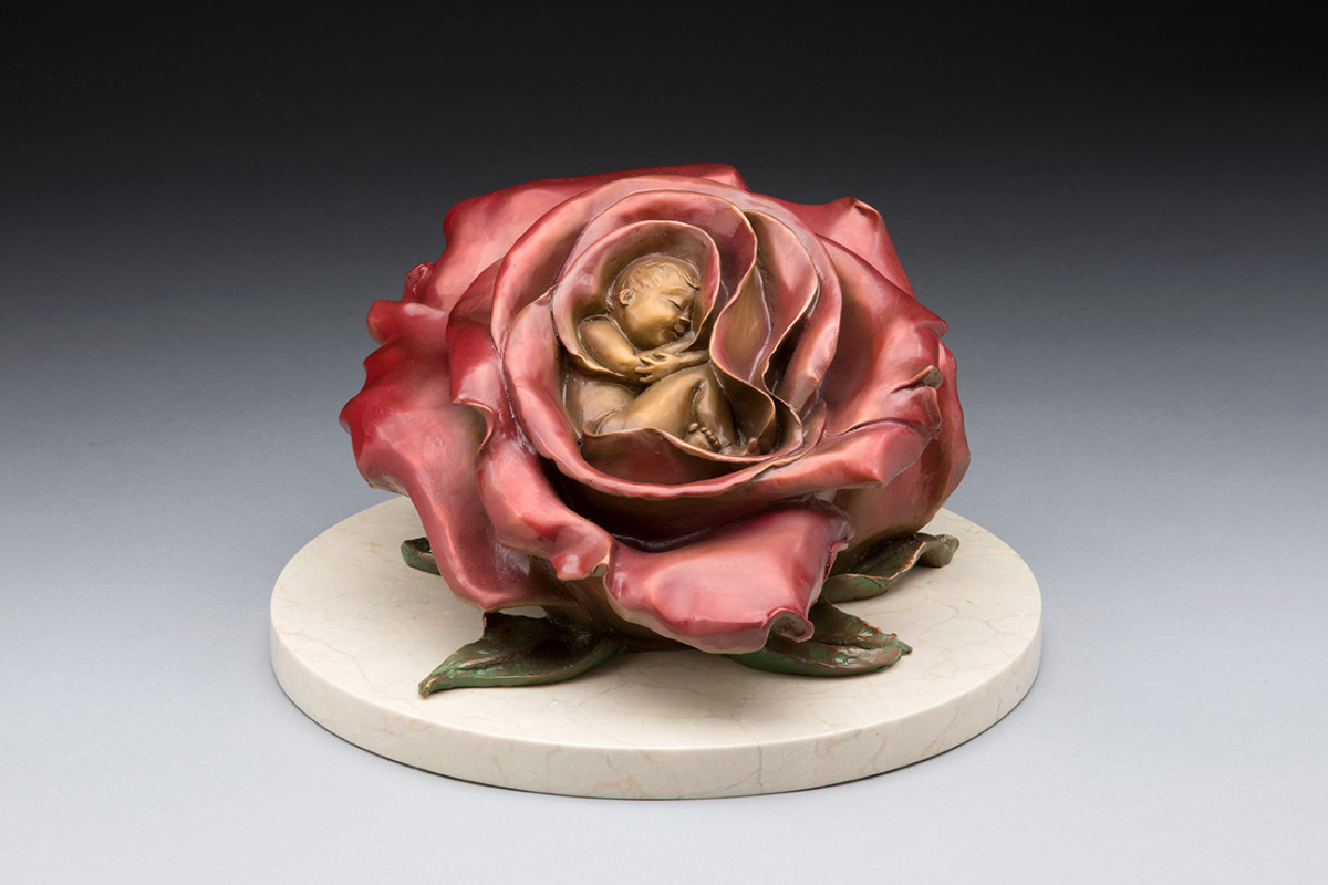 Rose Bed by Phyllis Mantik deQuevedo