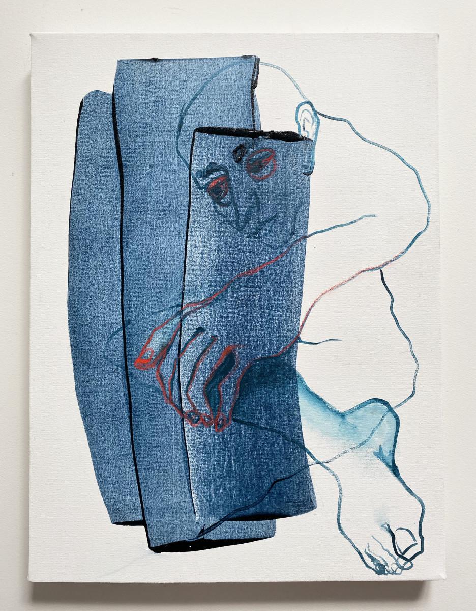 Blue Man by Mel Reese