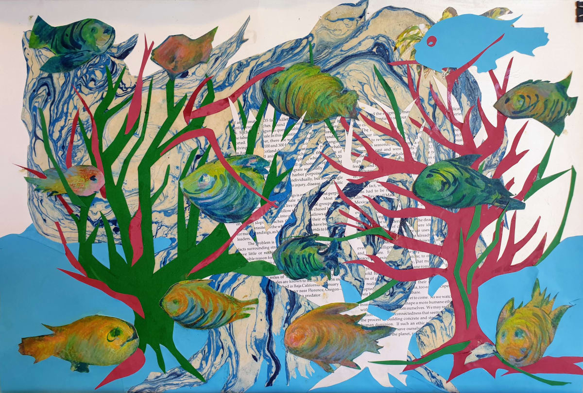 Habitat series #2:  Fish in the Seas and in the Trees by Kit Hoisington