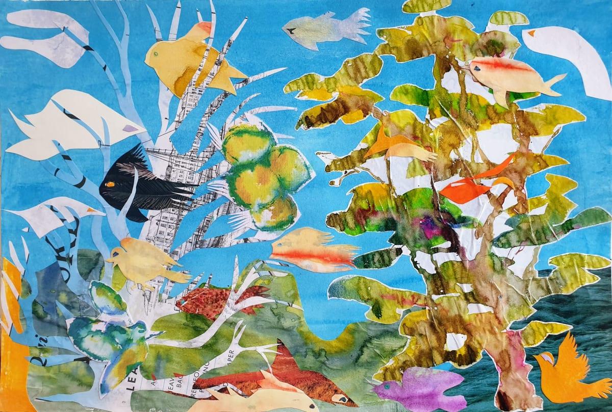 Habitat Series #4: Vibrant Life is Disappearing by Kit Hoisington