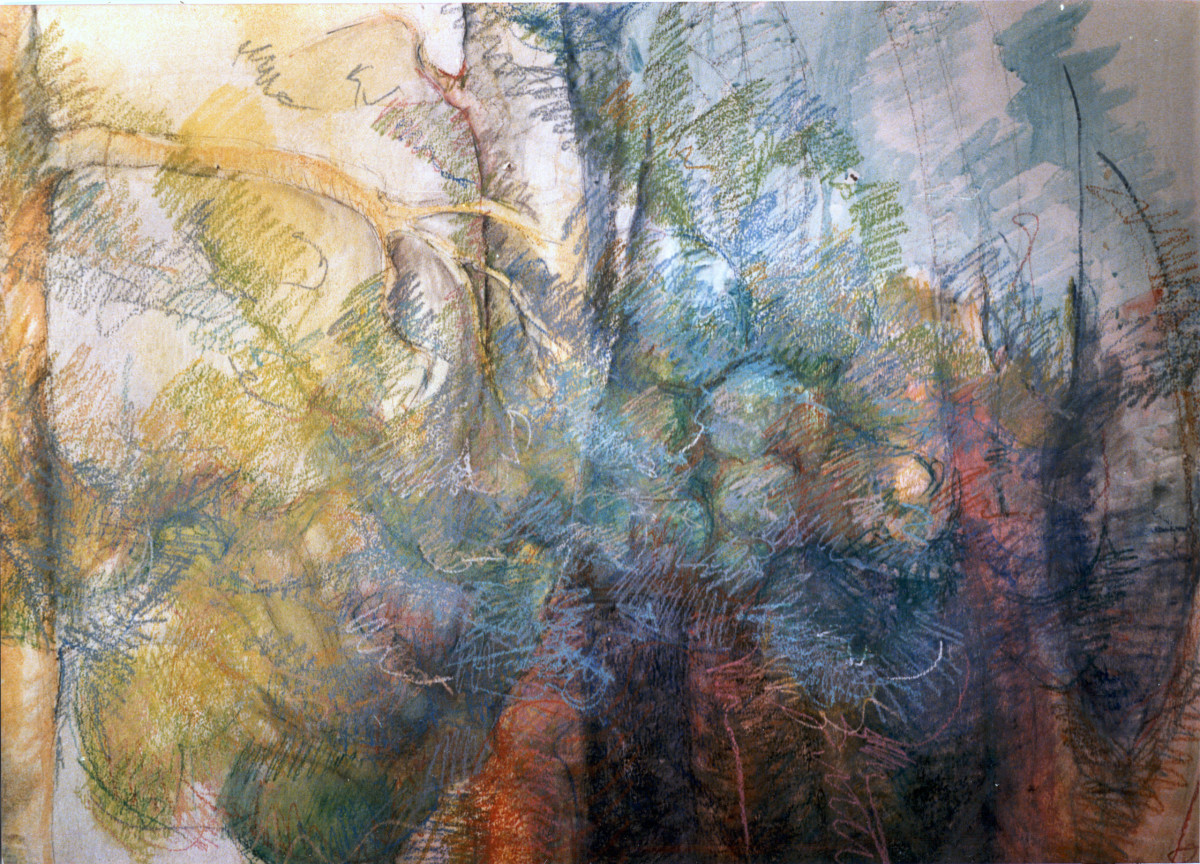 Trees of this Earth (a - horizontal view) by Kit Hoisington