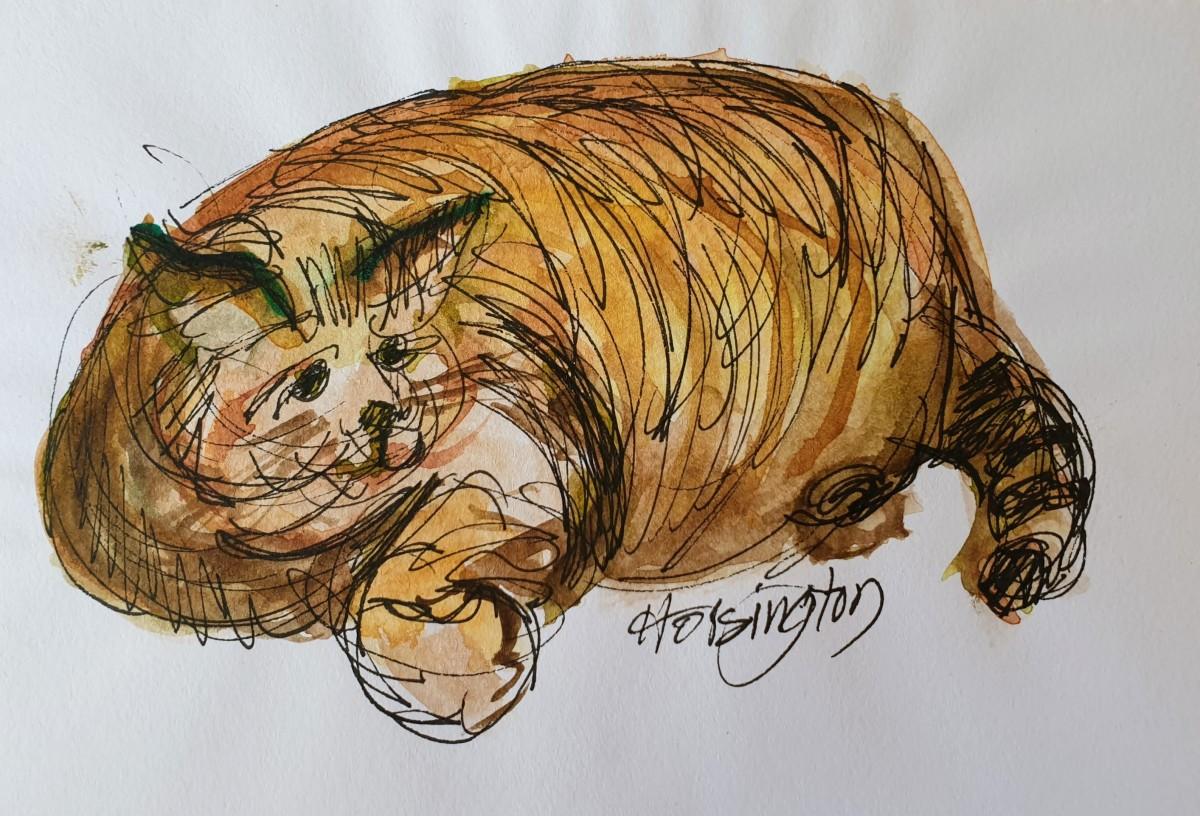 Fat Cat by Kit Hoisington