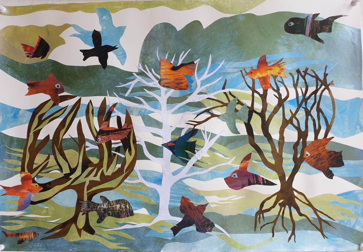 Habitat Series #6: Fly in the Sea, Swim in the Sky by Kit Hoisington