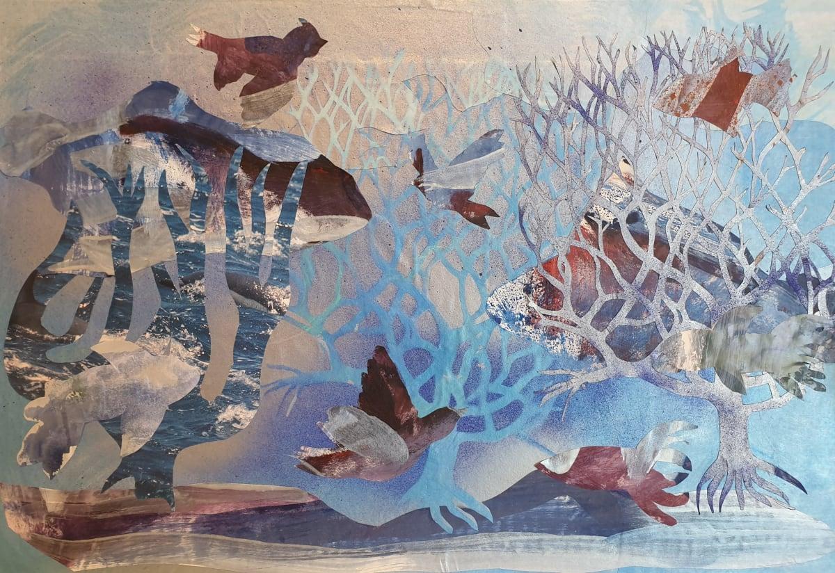Habitat Series #7: Creatures of the Blue by Kit Hoisington