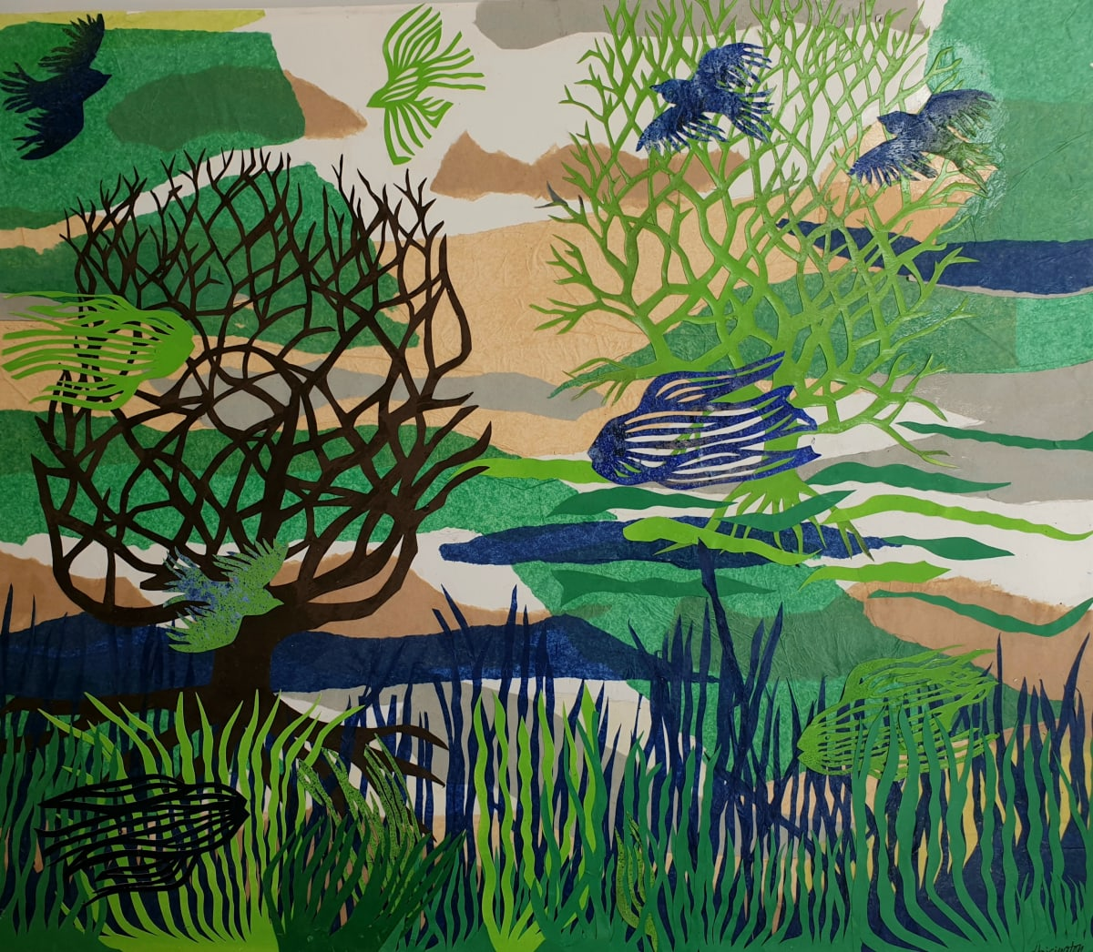 Seagrasses and Meadows by Kit Hoisington