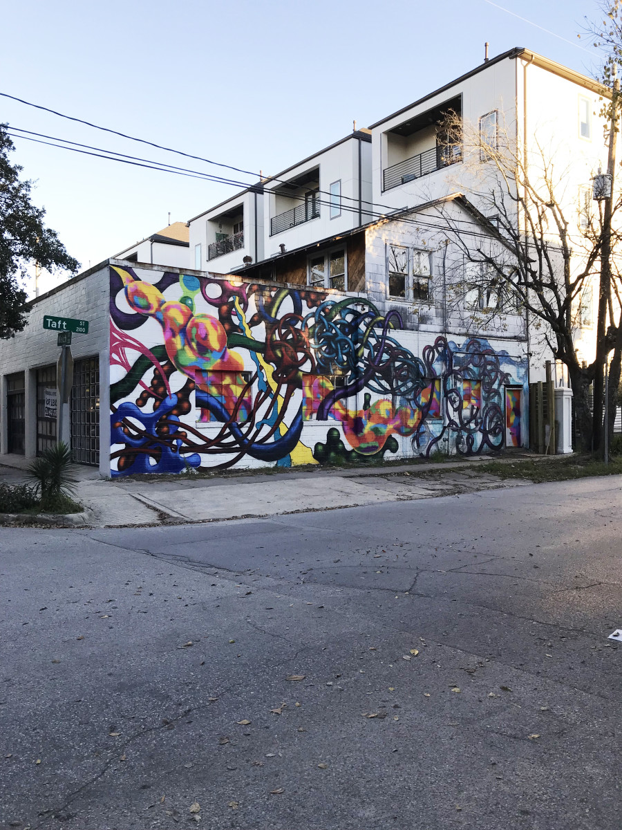 Mural festival HUE Houston 2017