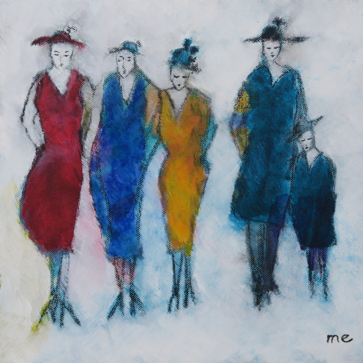 Five Lovely Ladies
